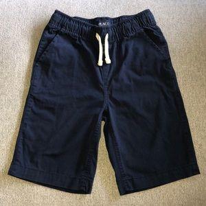 Boy's Pull On Navy Jogger Shorts 8